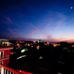 Vista oeste de Managua.