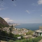 view from outside Alto Vidigal!