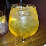 State Bird, saffron infused gin and tonic, very refreshing!