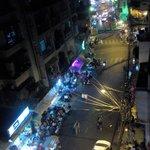 rue de nuit et animation garantie