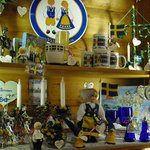 Items in the gift shop