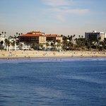 Casa del Mar from Santa Monica Pier