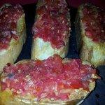 Spanish Bruscetta. Yummy!