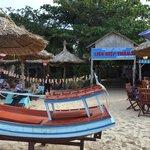 bar-ristorante sulla spiaggia