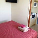 Bedroom to kitchen