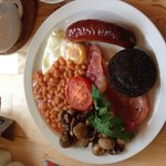 The delicious Hop Pickers Full English!