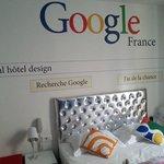 La camera google dell'ideal hotel design