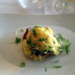 Eggs Royale with Salmon