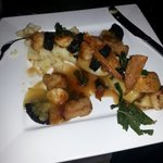 Not a photographer sorry it actually looked much better than this. Shetland scallops main