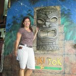 The entrace to the Tiki Tok