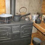 Cooking area in the living quarters