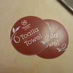 Para canjear los toallones de pileta