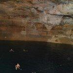 Cave - plenty of swimming space