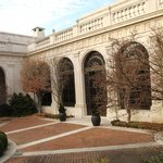 Courtyard at the Freer Gallery