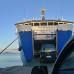 You have to take a car ferry to Savai'i