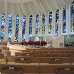 View looking toward the altar