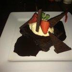 Birthday brownie