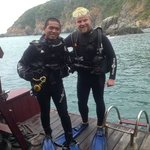 Me and the divemaster