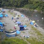 夏の宿下多摩川