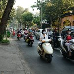 traffic on Nguyen Dinh Chieu