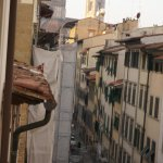 You can see the Duomo at the end of the street