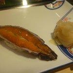 NIGIRI with mantis shrimp