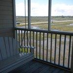 Bird Island porch