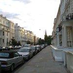 calle del vecindario