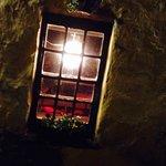 Ashes pub window