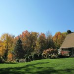 House exterior (Fall)