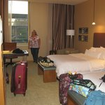 Our huge room, Westin St. Louis, St. Louis, MO