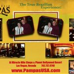 Comp picture taken at Pampas Brazillian Grille