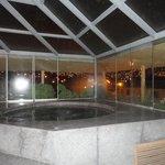 Hot tub on 5th Floor.