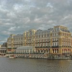 The Amstel from the canal