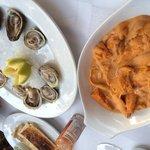 ウニと牡蠣