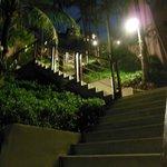 Sprawling stairways
