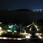 Night view from our room