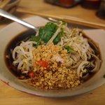 The vegetable noodle soup