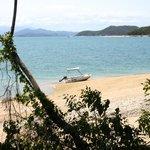 Surrounding island beach