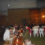 Jardin, nuestra cena de año nuevo
