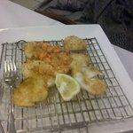 grigliata calamari gamberi