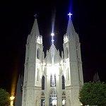 velankanni church in the night
