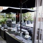 Roomers Bar Frankfurt, Patio