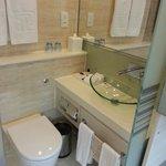 Full marble bathroom - washing basin area