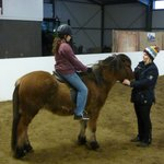 Our daughter given the chance to ride