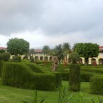 View of the hotel form the lawn