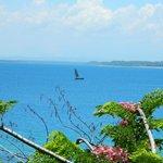 Views across to mainland Madagascar