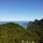 View out to the Tasman from Destruction Gully