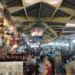 Ben Thanh Market - approx 10 min walk