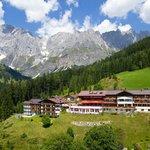 Hotel Bergheimat im Sommer